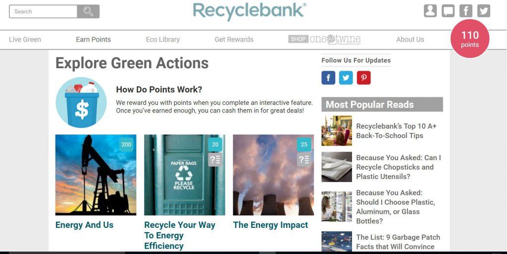 Cattura_Recyclebank-guadagnogreen