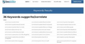 come trovare le parole chiave seo utility