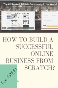 how to build a successful online business from scratch