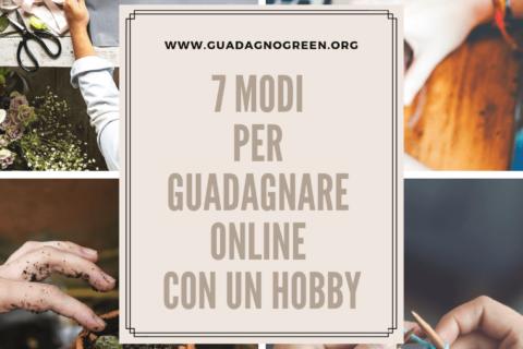 Come guadagnare online con un hobby? Guida per principianti.