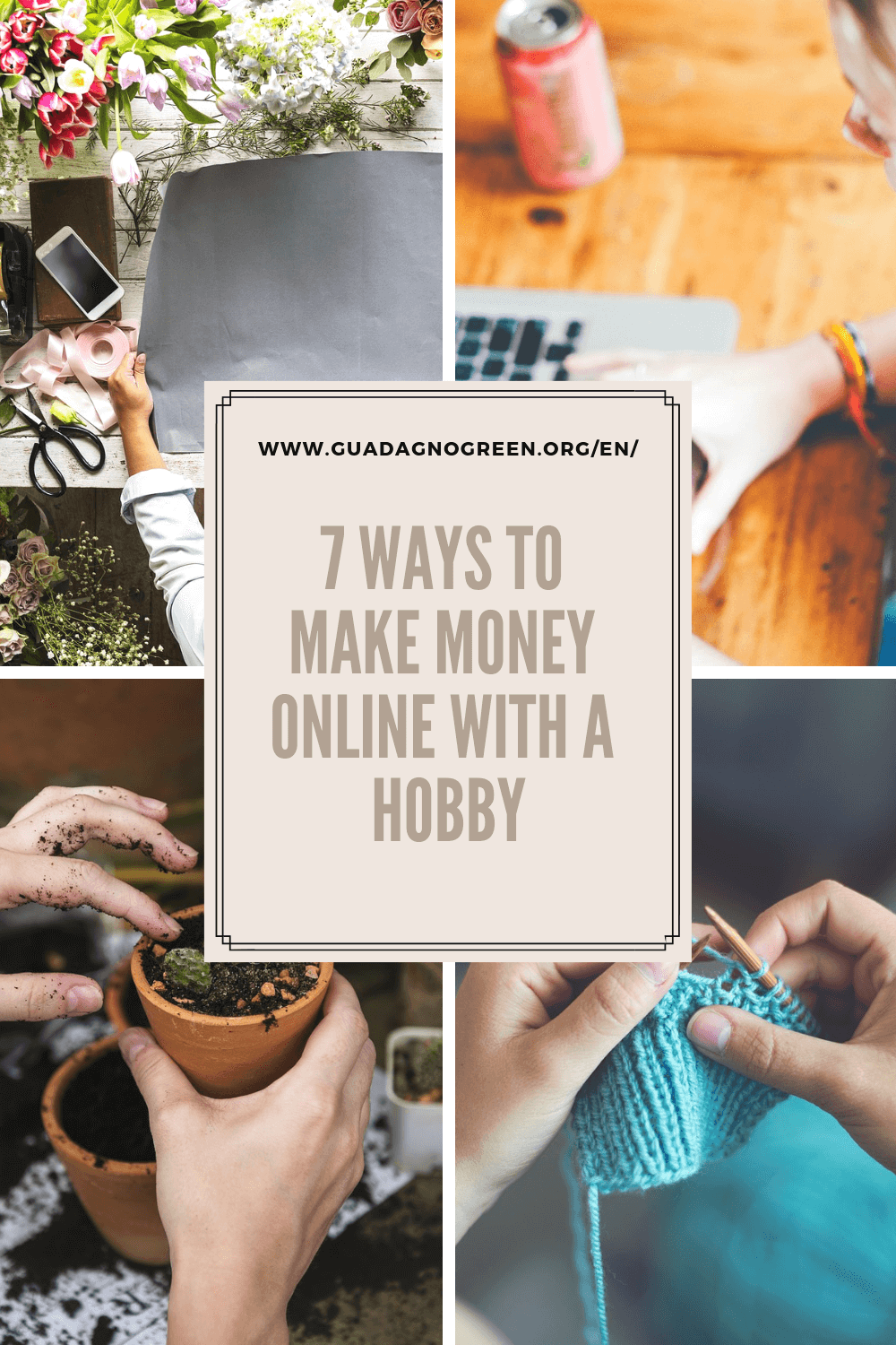 7 ways to make money online with a hobby