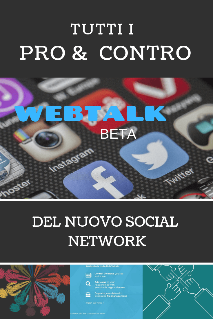 recensione di webtalk social network