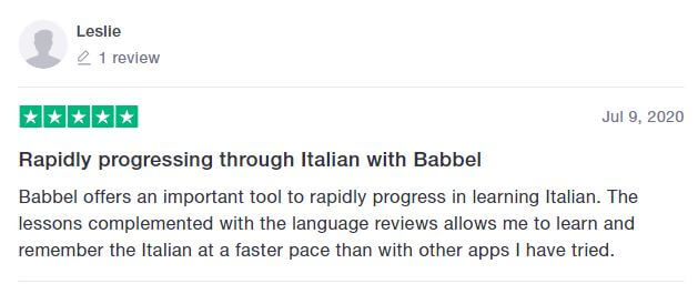 babbel review 2