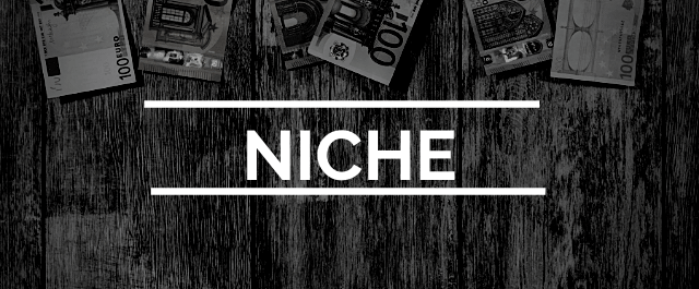 how to earn money with affiliate marketing - rule 2 - niche