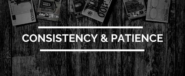 how to earn money with affiliate marketing - rule 5 - consistency and patience